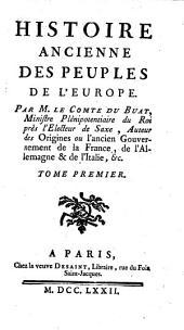 Histoire ancienne des peuples de l'Europe: Volume1