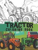 Tractor Coloring Book PDF