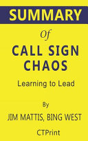 Summary Of Call Sign Chaos Book PDF