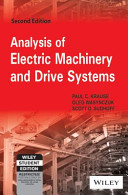 ANALYSIS OF ELECTRIC MACHINERY AND DRIVE SYSTEMS  2ND ED PDF