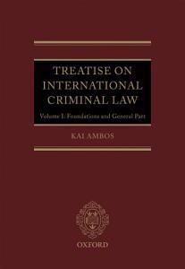 Treatise on International Criminal Law PDF