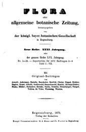 Flora: oder, Allgemeine botanische Zeitung, Band 56