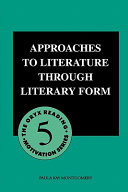 Approaches to Literature Through Literary Form PDF