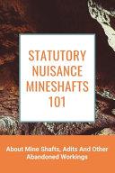 Statutory Nuisance Mineshafts 101