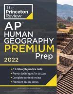 Princeton Review AP Human Geography Premium Prep 2022
