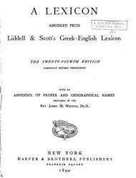 A Lexicon Abridged from Liddell   Scott s Greek English Lexicon PDF