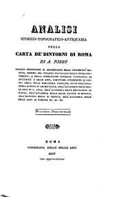 Analisi storico-topografico-antiquaria della carta de' dintorni di Roma: Volume 1,Parte 1