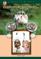 Care for a Pet Hedgehog PDF
