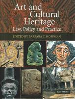 Art and Cultural Heritage PDF