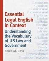 Essential Legal English in Context PDF