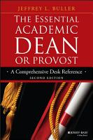 The Essential Academic Dean or Provost PDF
