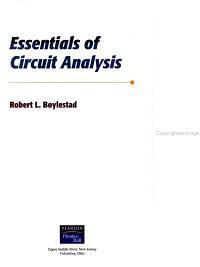 Essentials of Circuit Analysis PDF