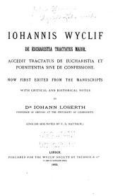 Wyclif's Latin works: Volume 26