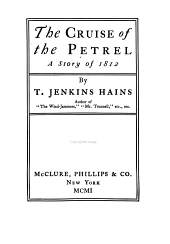 The Cruise of the Petrel: A Story of 1812