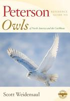Peterson Reference Guide to Owls of North America and the Caribbean PDF