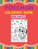 Pokemon Coloring Book Volume 1