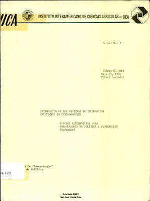 Integracion de los Sistemas de Informacion Existentes en Centroamerica PDF