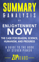 Summary   Analysis of Enlightenment Now PDF