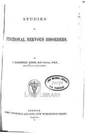 Studies on Functional Nervous Disorders