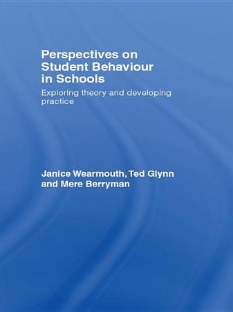 Perspectives on Student Behaviour in Schools PDF