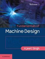 Fundamentals of Machine Design PDF