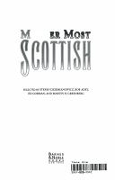 Murder Most Scottish PDF