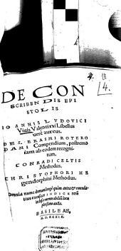 De conscribendis epistolis