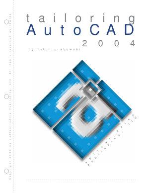Tailoring AutoCAD 2004