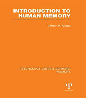 Introduction to Human Memory  PLE  Memory  Book