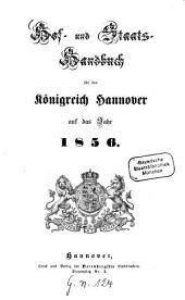 Hof- und Staatshandbuch für das Königreich Hannover: 1856
