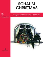 Schaum Christmas, A: The Red Book: For Piano