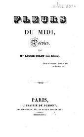 Fleurs du Midi: poésies