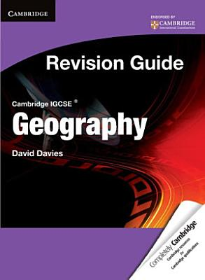 Cambridge IGCSE Geography Revision Guide Student s Book PDF