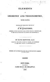 Elements of geometry and trigonometry: with notes