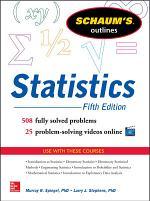 Schaum's Outline of Statistics, 5th Edition