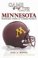 Game of My Life, Minnesota