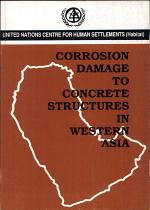 Corrosion Damage to Concrete Structures in Western Asia