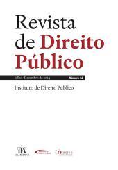 Revista de Direito Público - Ano VI, N.o 12 - Julho/Dezembro de 2014
