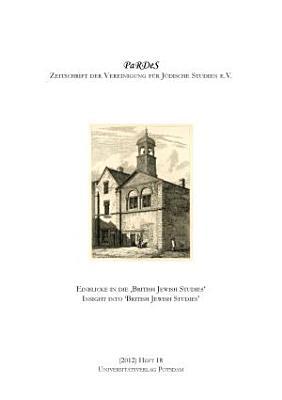 Einblicke in die  British Jewish Studies  PDF