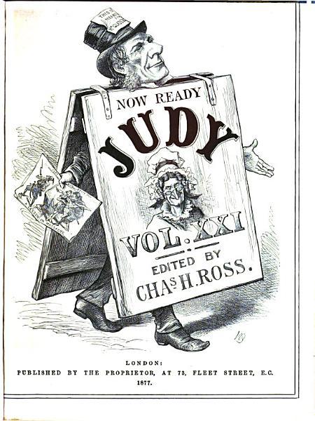 Judy  Or the London Serio comic Journal PDF