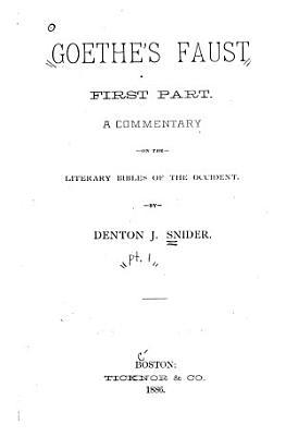 Goethe s Faust