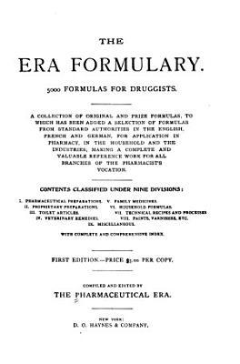 The Era Formulary