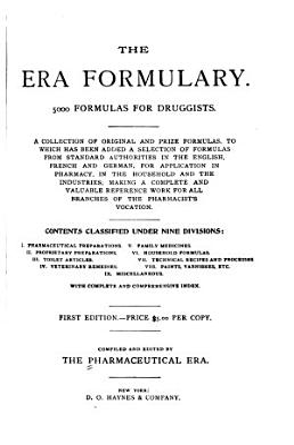 The Era Formulary PDF