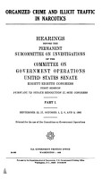 Organized Crime and Illicit Traffic in Narcotics PDF