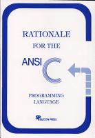 Rationale for the ANSI C Programming Language PDF