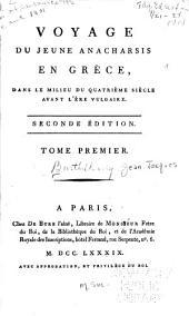 Voyage du jeune Anacharsis en Grèce