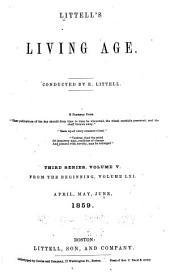 Littell's Living Age: Volume 61