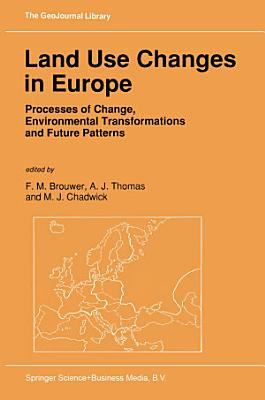 Land Use Changes in Europe PDF