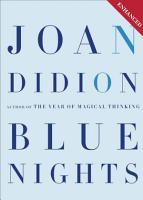 Blue Nights  Enhanced Edition  PDF