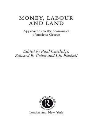 Money  Labour and Land